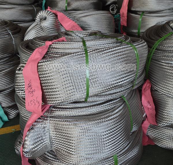 不锈钢波纹管网套